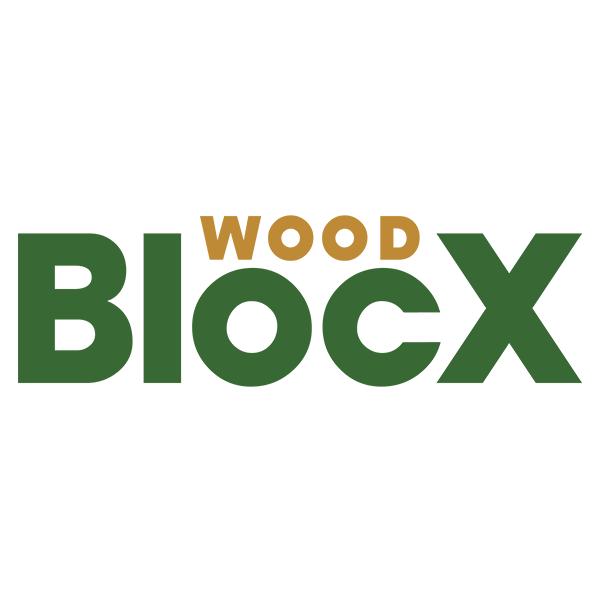 Small Wooden Cubic Garden Planter / 0.45 x 0.45 x 0.45m