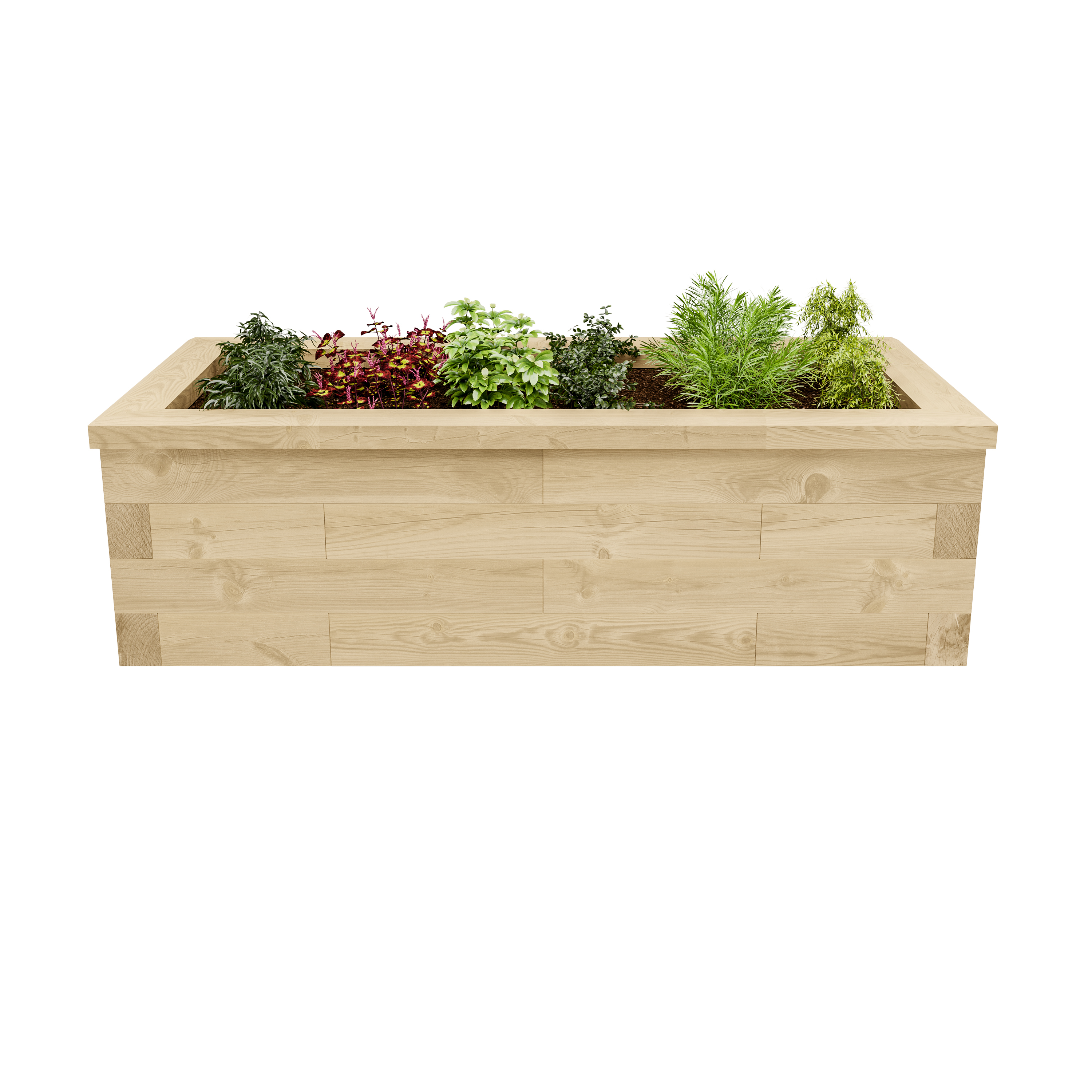 Amazing photo of Home / Made to Measure Raised Bed with #4C601E color and 3000x3000 pixels