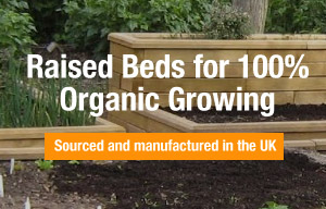 WoodBlocX Raised beds made to measure