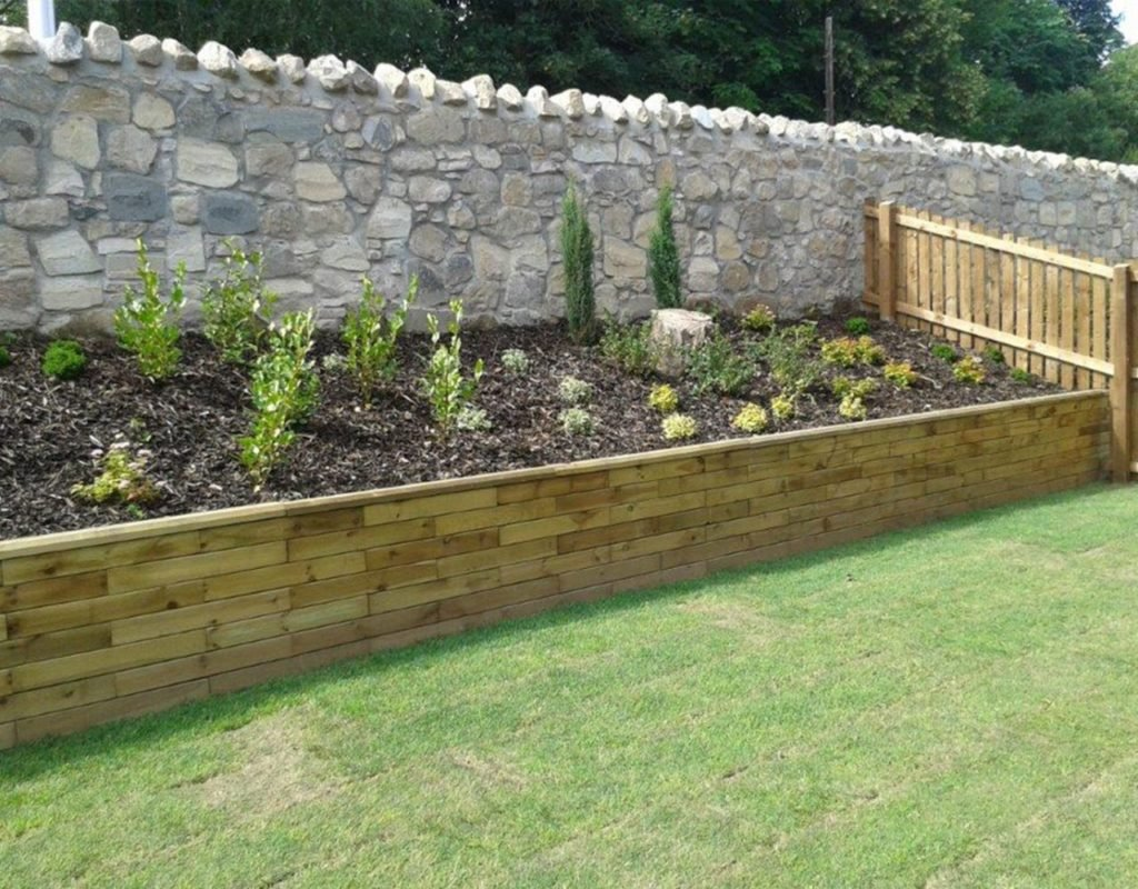 Hard landscaping made easy with woodblocx modular timber for Hard landscaping