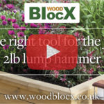 The right tool for the job - 2lb lump hammer