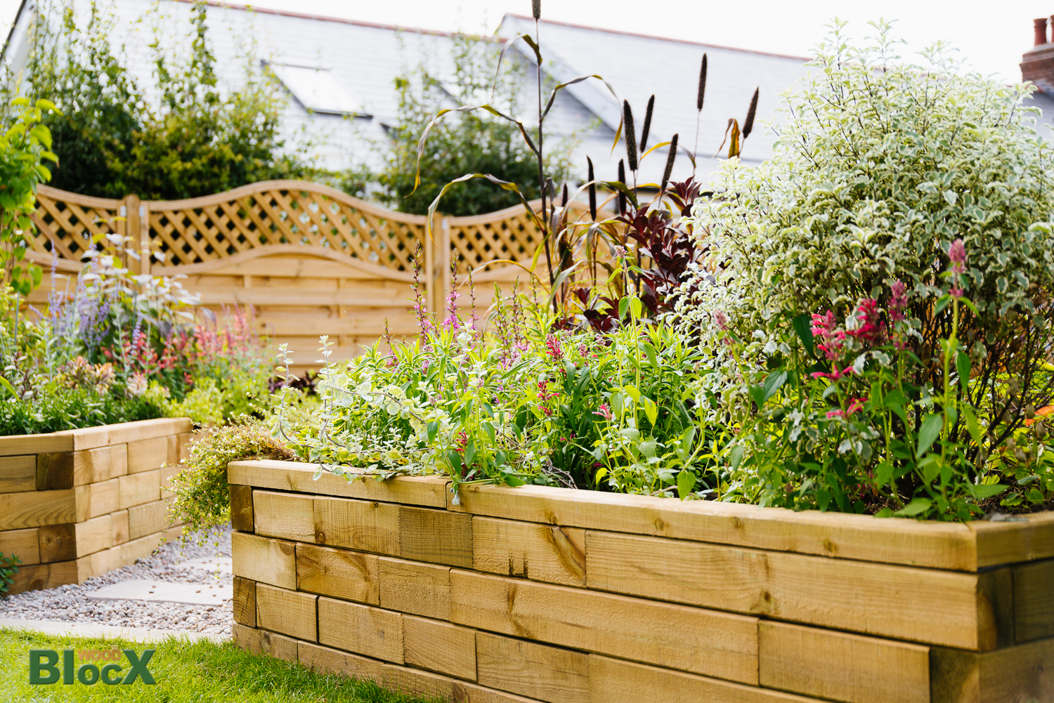 Plan your dream garden with the help of WoodBlocX. - WoodBlocX