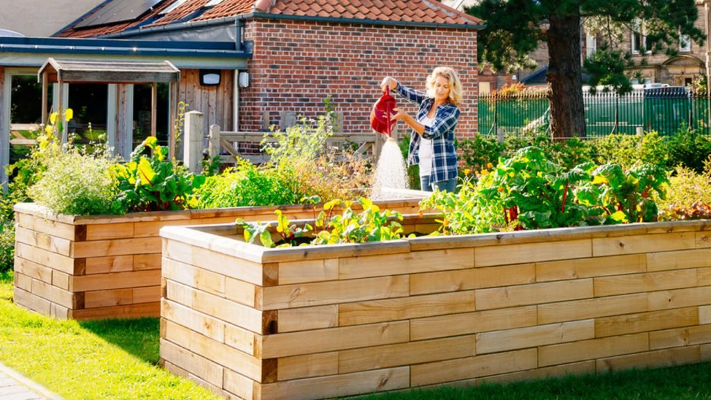 The benefits of using raised beds