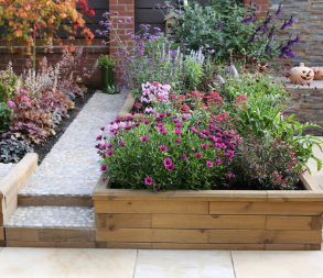 The benefits of raised beds - build on any surface