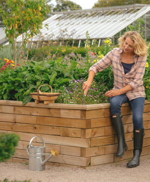 What is the best material for making raised beds
