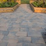 Paving options to pair with WoodBlocX by Primethorpe Paving