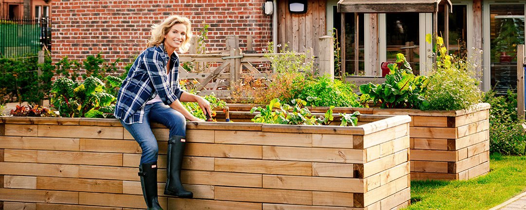 What is the best material for making a raised bed?