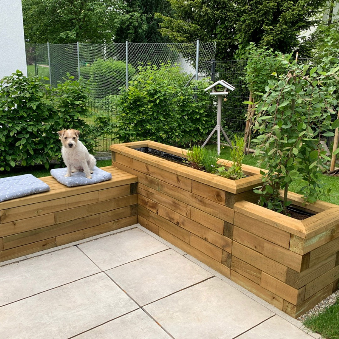 WoodBlocX best selling bespoke raised timber bed shapes