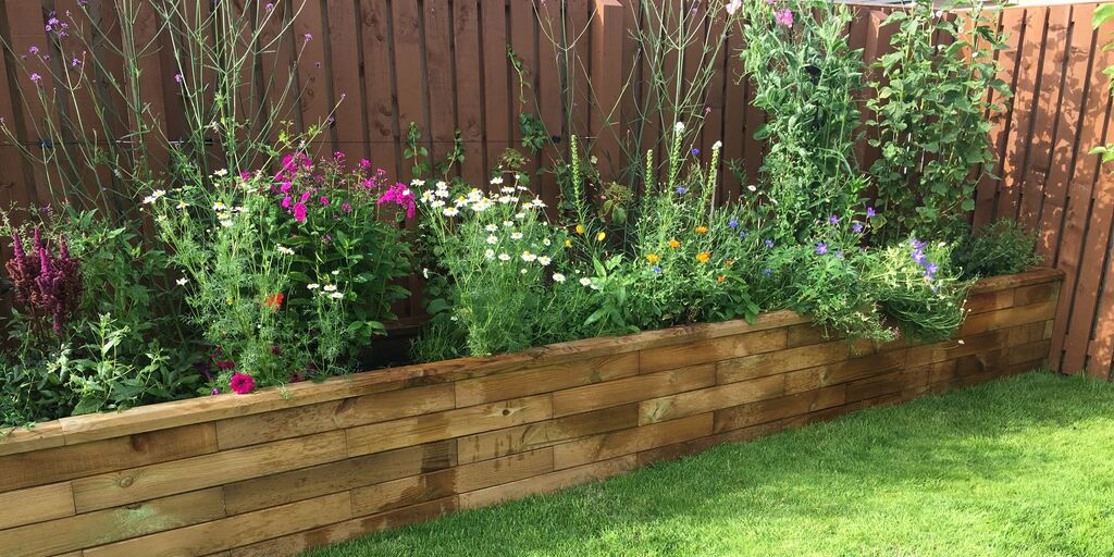 Ideas For Small Gardens Raised Garden Beds And Planters Woodblocx