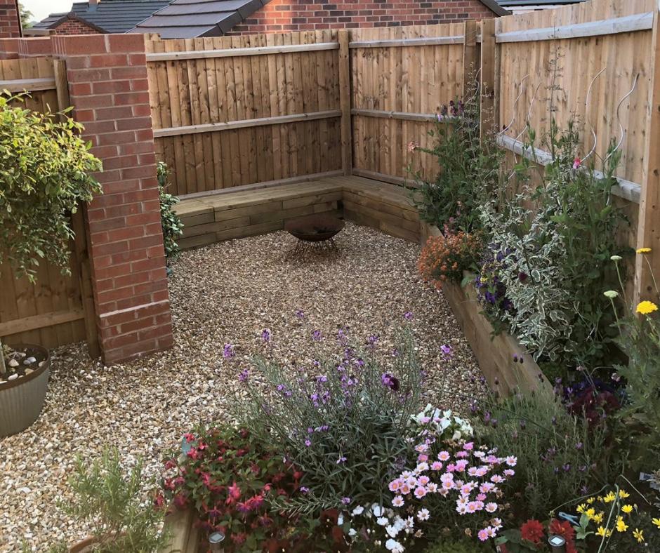 Small garden ideas - WoodBlocX