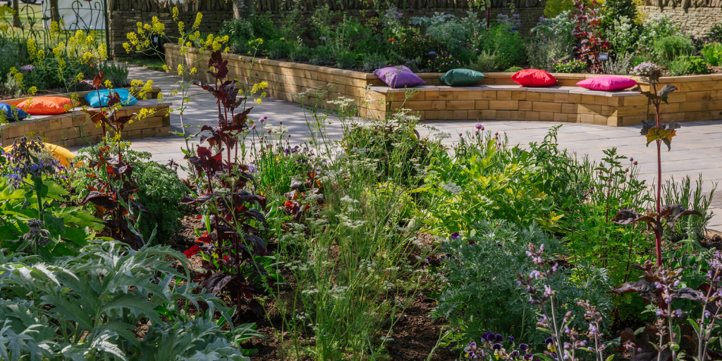 WoodBlocX timber raised beds