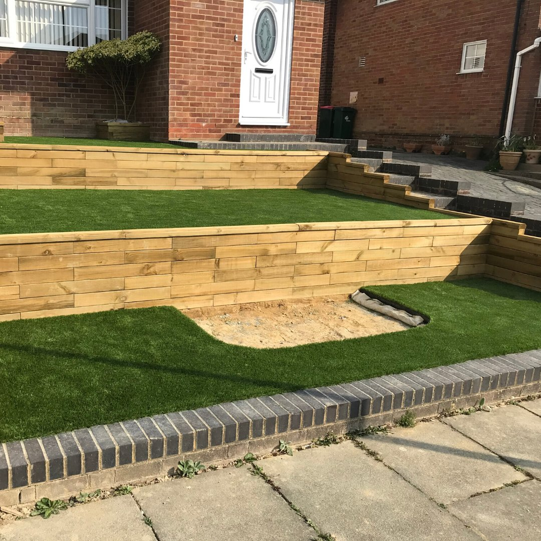 Sloping garden ideas