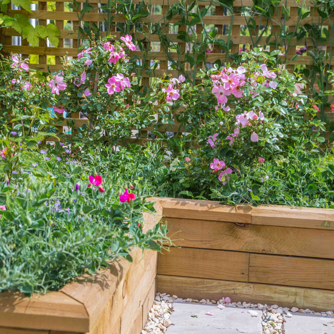 WoodBlocX best selling raised bed shapes