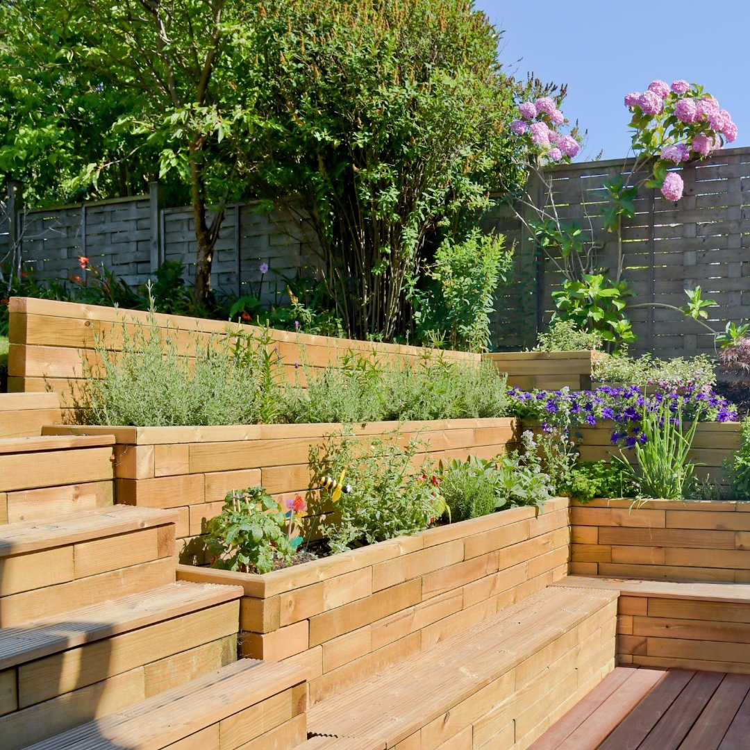 WoodBlocX retaining wall ideas