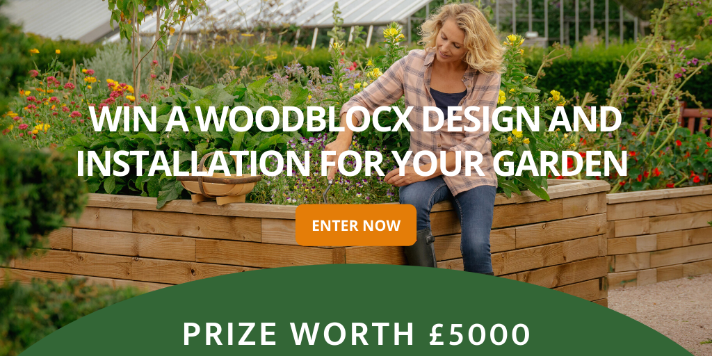 Win a WoodBlocX design for your garden