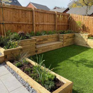Rob's small new build garden transformation
