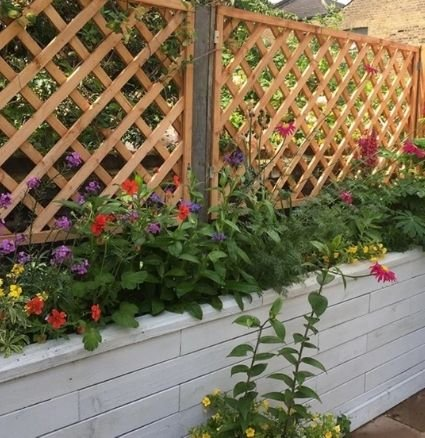 Tall raised beds - ideas for small gardens
