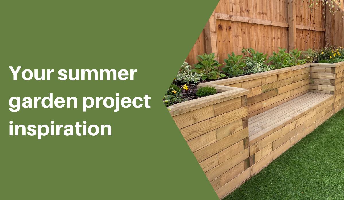 garden landscape ideas using woodblocx